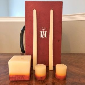 NEW PRICE ⬇️ John Hardy Shagreen Candle Collection